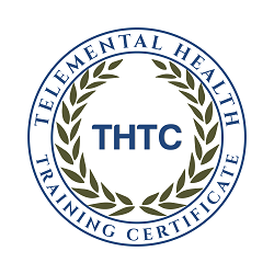Telemental Health Training Certificate seal